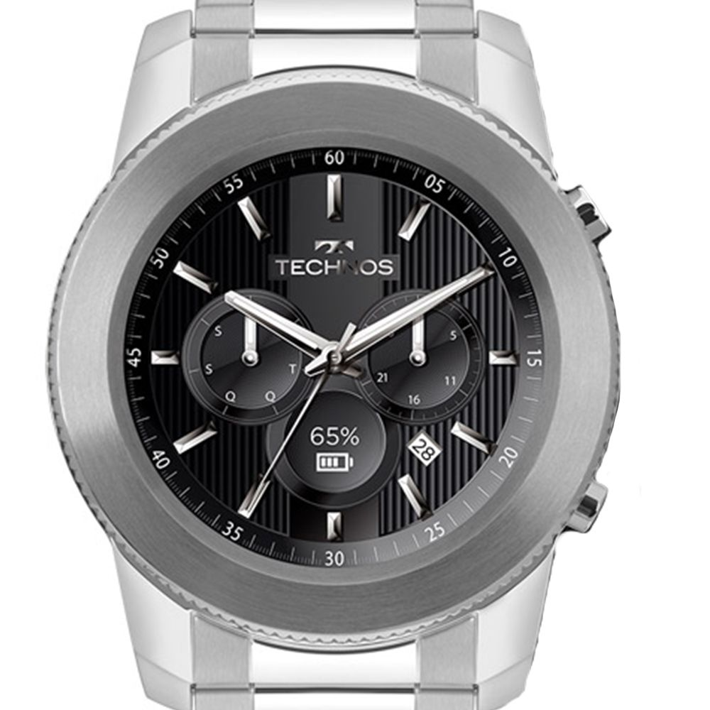 Relógio Technos Connect 3+ M1AA 1P Smartwatch - Omega Ótica e Relojoaria e9f57f2252