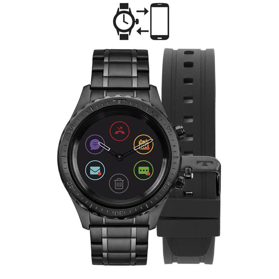 86c612a6c99 Relógio Technos Connect Duo P01AB 4P Smartwatch - Omega Ótica e ...