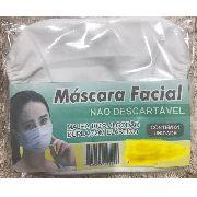 Máscara Higiênica Proteção Facial Boca Nariz Tecido Lavável
