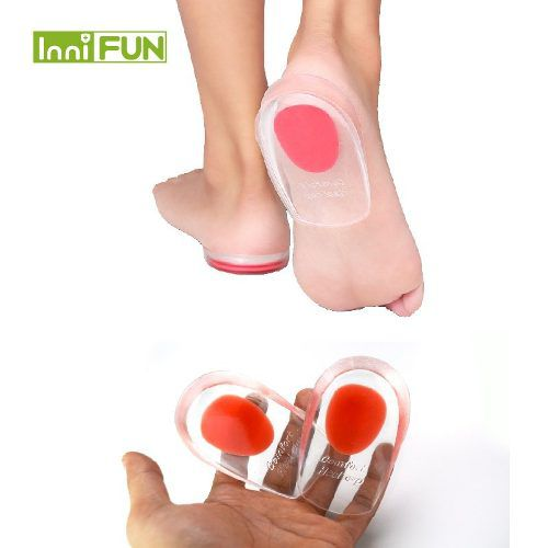 Par Palmilhas De Silicone Gel Ortopédicas Anti Impacto