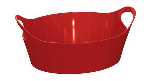 Cesto Plus P Vermelho Sólido De Plástico Uz