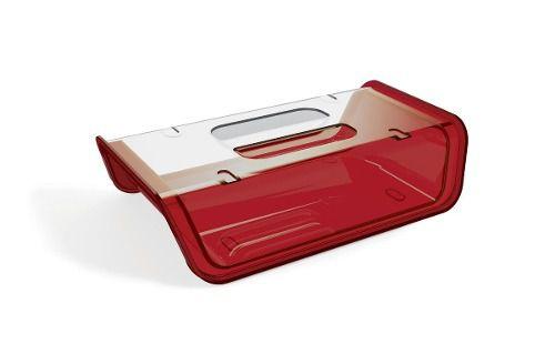 Porta Frios Translucido De Plástico Uz