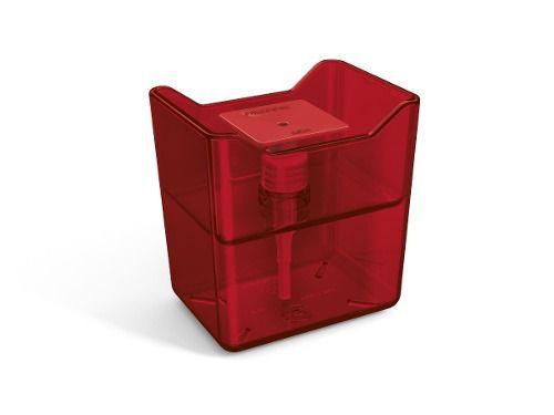 Dispenser Premium Vermelho Translucido De Plástico Uz
