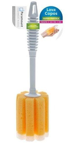 Escova Esponja Lava Copos 28 Cm Super Pratica Paramount
