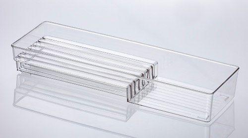 Organizador Diamond Para Facas 42x13x6cm Cristal Paramount