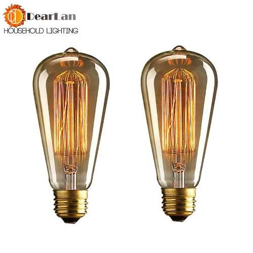Lampada Retrô Vintage St64, 40w ,110v, E27