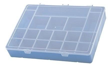 Box Organizador Gg Plástico 37x27x6 Color Nature Paramount