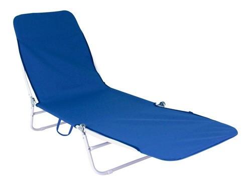 Cadeira Espreguiçadeira 5 Posições Suporta 90kg Cor Sortidas
