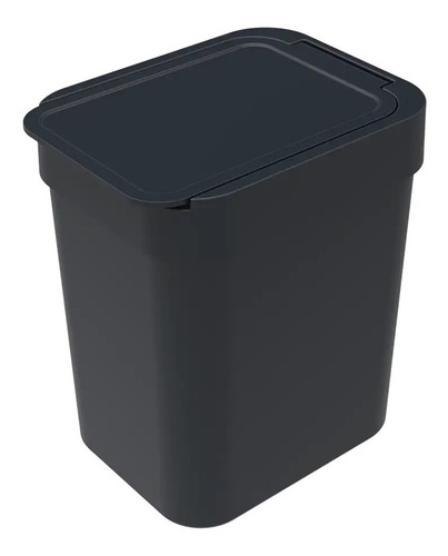 Lixeira 2,5l Cesto De Lixo Plástico Cozinha Pia Escritório