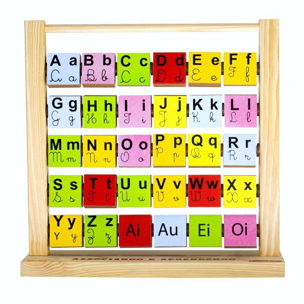 Alfabetização e Letramento Brinquedo Associando e Aprendendo