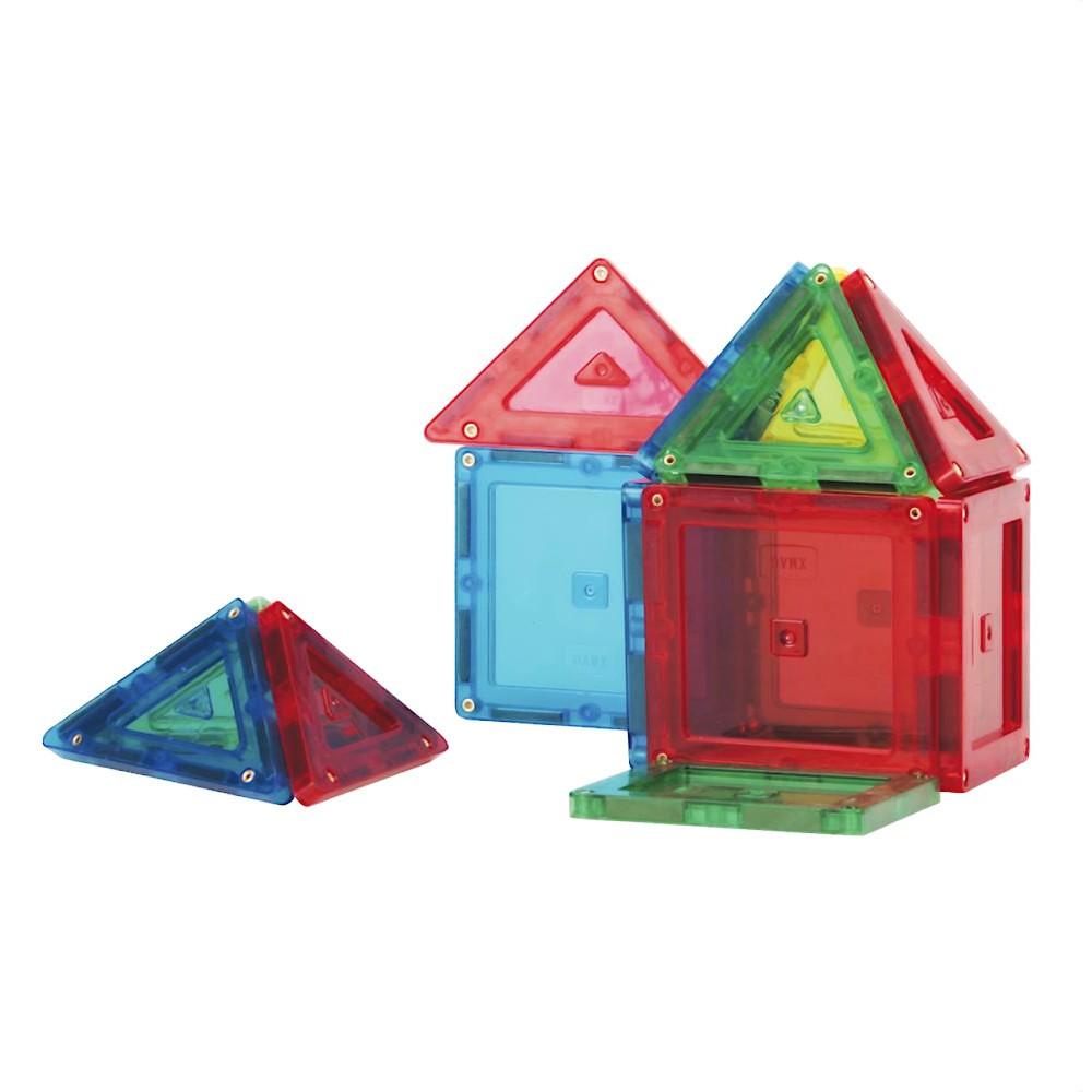 Blocos de Montar Jogo Magnético 14 Peças Magforma Brinquedo