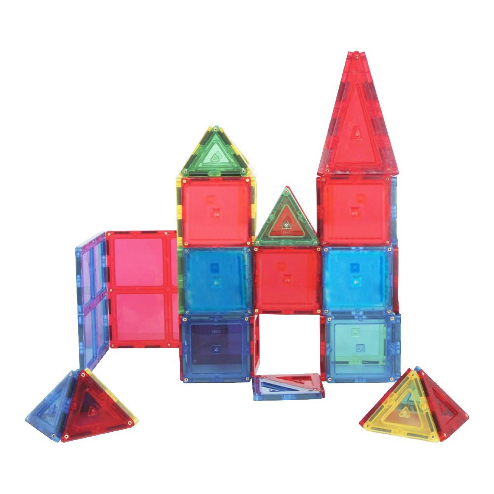 Blocos de Montar Jogo Magnético 56 Peças Magforma Brinquedo
