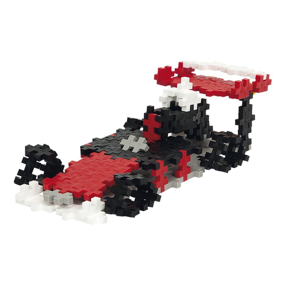 Pecinhas de Montar Carro Corrida 170 Pç Plus Plus Mini Basic