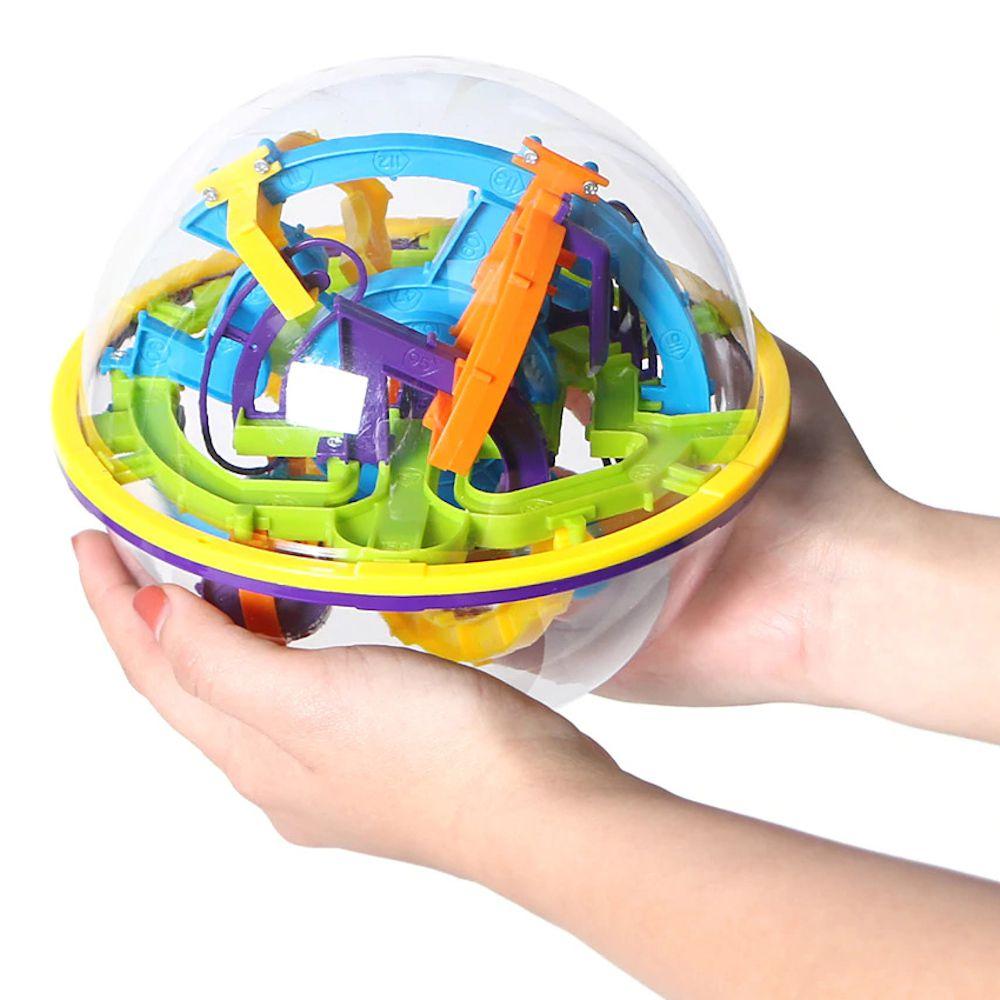 Brinquedo Diferente Bola Perplexus Jogo Desafio do Labirinto