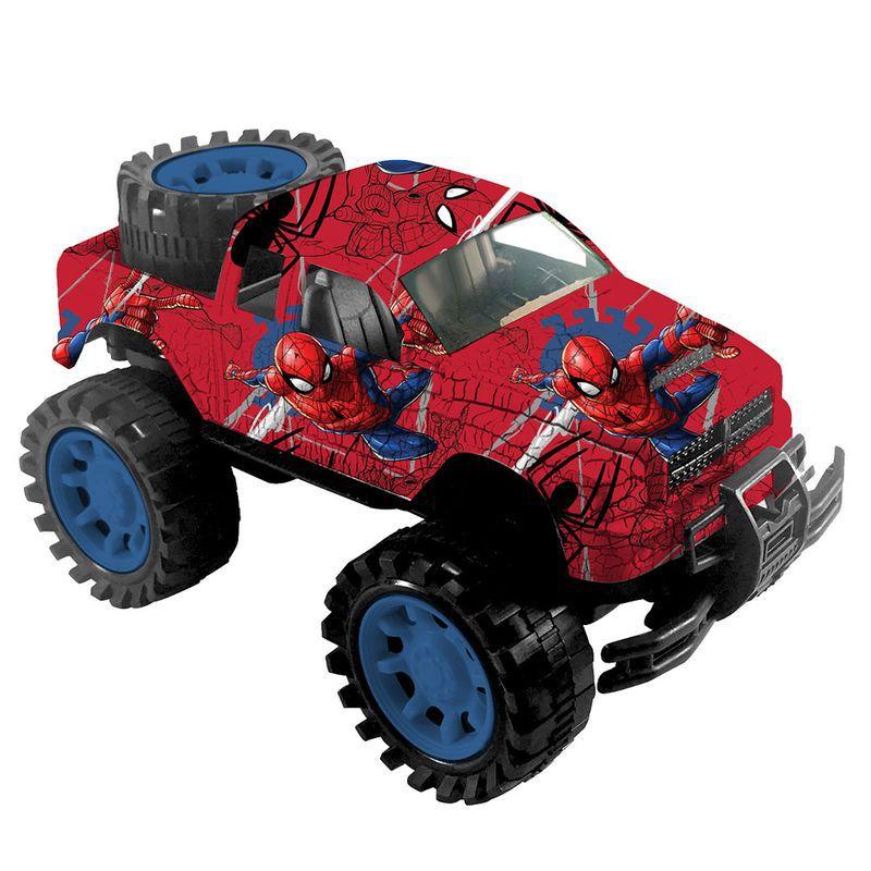 Carrinho Homem Aranha à Fricção Pickup Original Toyng 39203