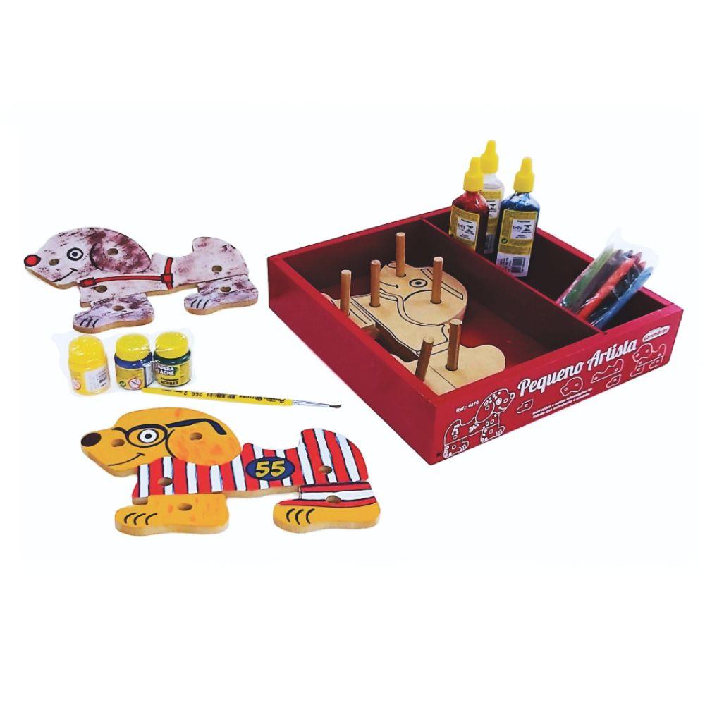 Kit Pintura Infantil Brinquedo Criança 3 Anos Carimbras 4870