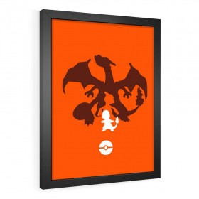 QUADRO DECORATIVO CHARMANDER | POKÉMON