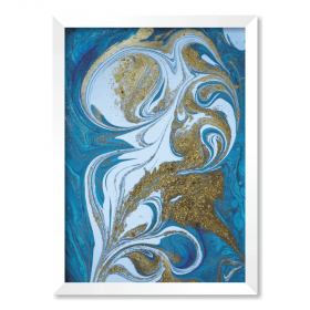 QUADRO ABSTRACT BLUE