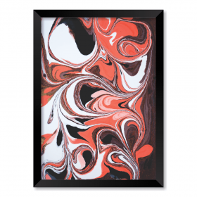 QUADRO ABSTRACT RED