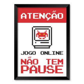 QUADRO ATENÇÃO JOGO ONLINE