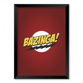 QUADRO BAZINGA | THE BIG BANG THEORY