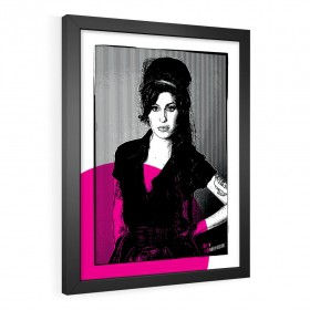 QUADRO DECORATIVO AMY WINEHOUSE