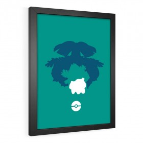 QUADRO DECORATIVO BULBASAUR | POKÉMON