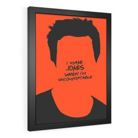 QUADRO DECORATIVO CHANDLER | FRIENDS
