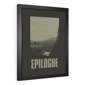 QUADRO DECORATIVO EPILOGUE | THE LAST OF US