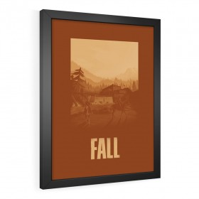 QUADRO DECORATIVO FALL | THE LAST OF US