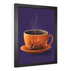 QUADRO DECORATIVO FRIENDS | COFFEE