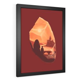 QUADRO DECORATIVO HARRY POTTER E A PEDRA FILOSOFAL
