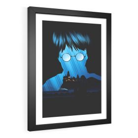 QUADRO DECORATIVO PEDRA FILOSOFAL | HARRY POTTER