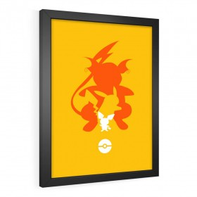 QUADRO DECORATIVO PIKACHU | POKÉMON
