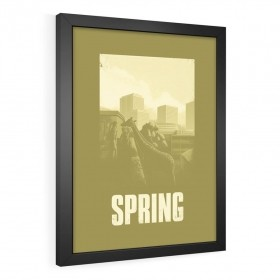 QUADRO DECORATIVO SPRING | THE LAST OF US