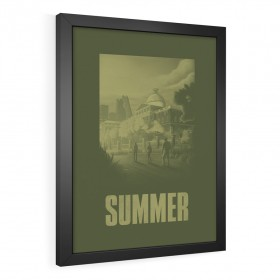 QUADRO DECORATIVO SUMMER | THE LAST OF US