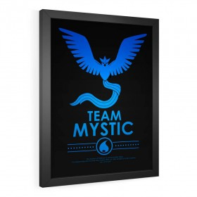 QUADRO DECORATIVO TEAM MYSTIC | POKÉMON