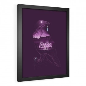 QUADRO DECORATIVO THE WORLD IS A STAGE | LIFE IS STRANGE