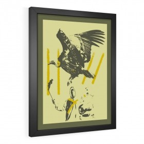 QUADRO DECORATIVO VULTURE TRENCH
