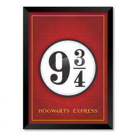 QUADRO HOGWARTS EXPRESS| HARRY POTTER