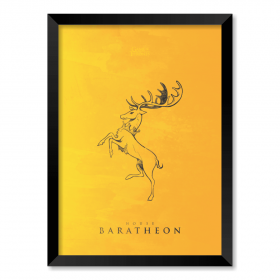 QUADRO HOUSE BARATHEON | GAME OF THRONES