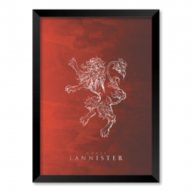 QUADRO HOUSE LANNISTER | GAME OF THRONES