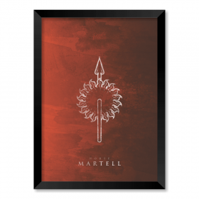 QUADRO HOUSE MARTELL | GAME OF THRONES