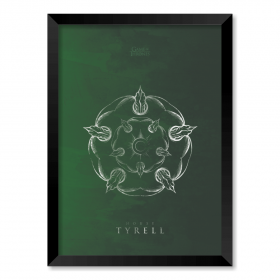 QUADRO HOUSE TYRELL | GAME OF THRONES