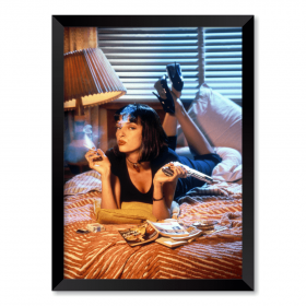 QUADRO PULP FICTION - MIA WALLACE
