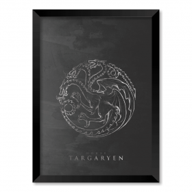 QUADRO HOUSE TARGARYEN | GAME OF THRONES