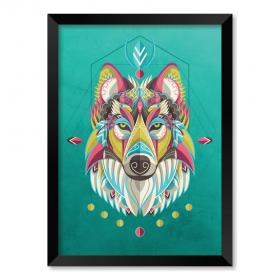 QUADRO WOLF ART