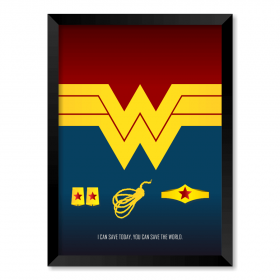 QUADRO WONDER WOMAN