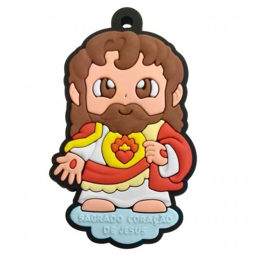CHAVEIRO SAGRADO CORAÇÃO DE JESUS  - Pôster no Quadro