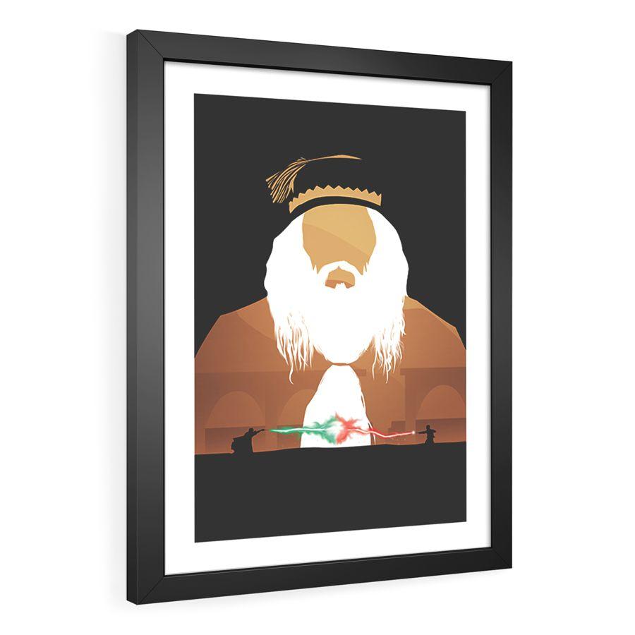 Coleção Harry Potter  - Pôster no Quadro